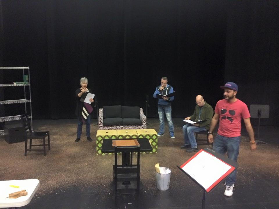 Rehearsal for the Staged Reading